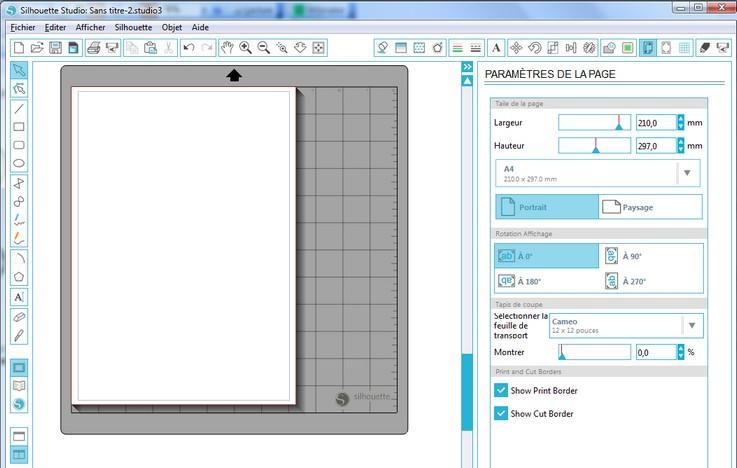 01 - Comment faire un print & cut ? EcranCameo-Portrait