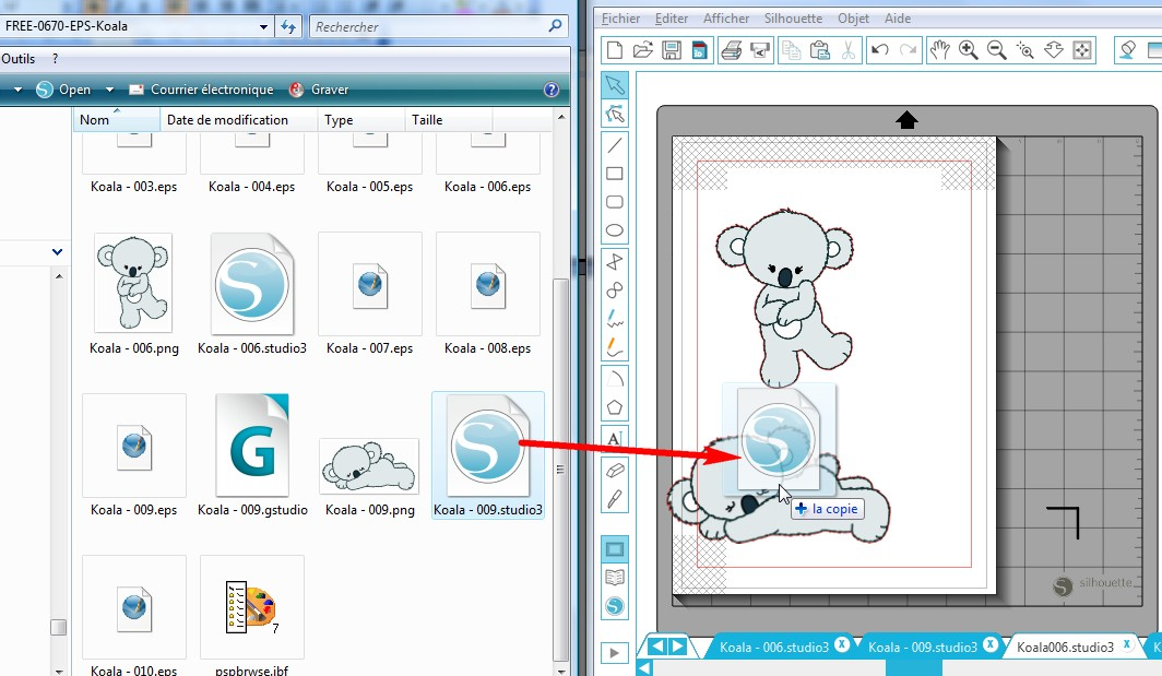01 - Comment faire un print & cut ? GlisserDeposerstudio