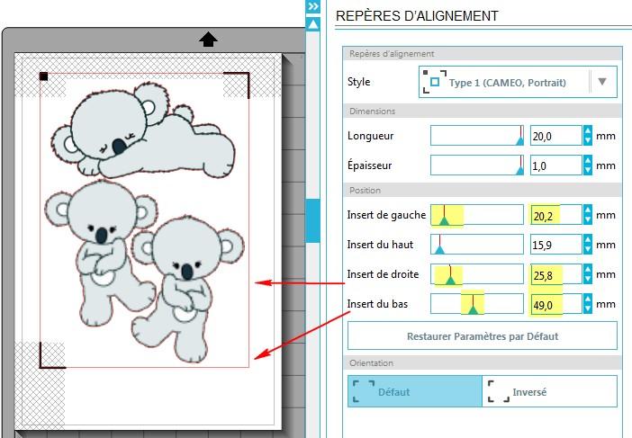 01 - Comment faire un print & cut ? PositionReperes