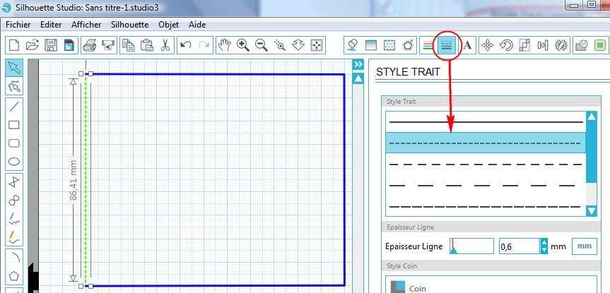 14 - Créer des pointillés dans une forme fermée PointillesFormes_SelectionPointilles