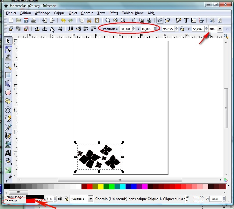 Découper directement depuis Inkscape - Maj 05/07/2010 (p 1) ParamPositionImage