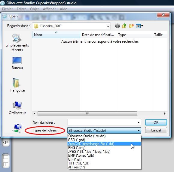 04 - Comment convertir les fichiers ? SSt_ChoixDXF