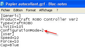 Ajout de matière dans Robo Master EditMedia