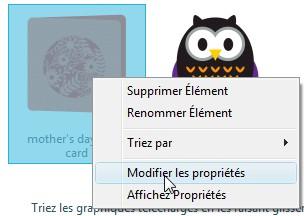 05 - Comment modifier les propriétés d'un fichier ModifierProprio