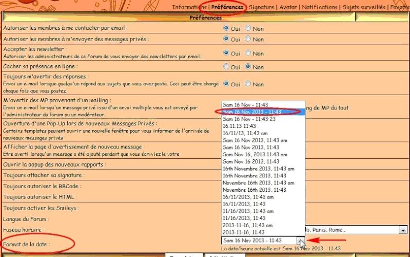01 - Le forum : quelques astuces pour s'y retrouver Date2