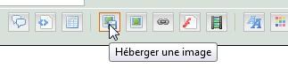03 - Insérer une image dans un message HebergerImage